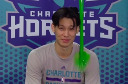 Jeremy Lin Gets Slimed For 90's Nickelodeon Night