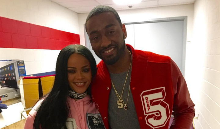John Wall Gave Rihanna His Wizards Jersey