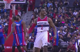 John Wall, Wizards Crush Detroit