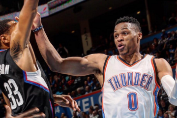 Kevin Durant, Russell Westbrook Dominate LA
