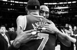 Kobe Bryant Battles Carmelo Anthony For Last Time