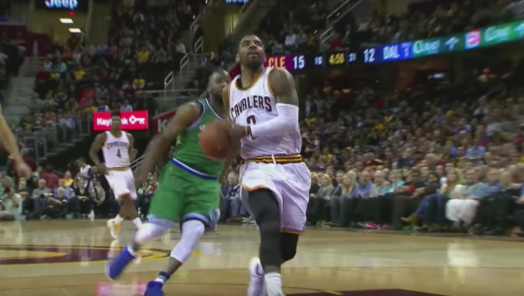 Kyrie Irving Leads LeBron-less Cavs Past Dallas