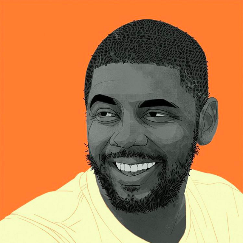 Kyrie Irving Uncle Drew Portrait