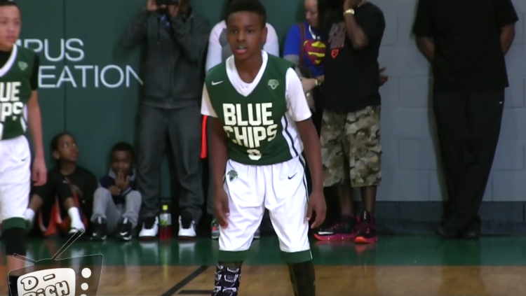 LeBron James Kids Still Ballin' Out