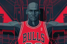 Michael Jordan F-23 Illustration