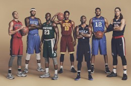 NBA Stars x March Madness In Nike College Uniforms
