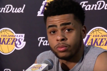 Nick Young and D'Angelo Russell Press Conference