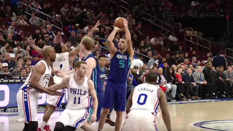 Nicolas Batum Picks Up Triple-Double, Hornets Win