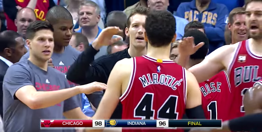 Nikola Mirotic Powers Bulls Past Indy