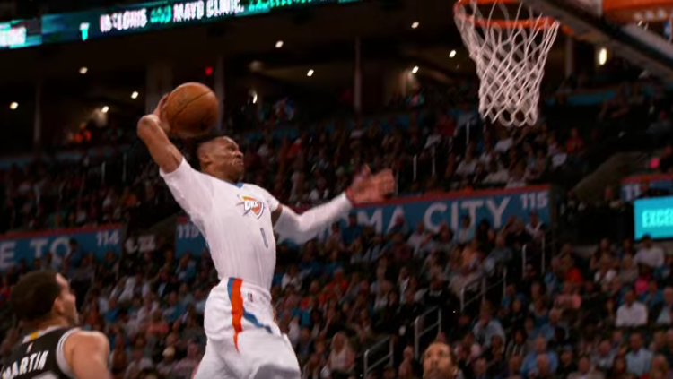 Russell Westbrook, Kevin Durant Topple Spurs