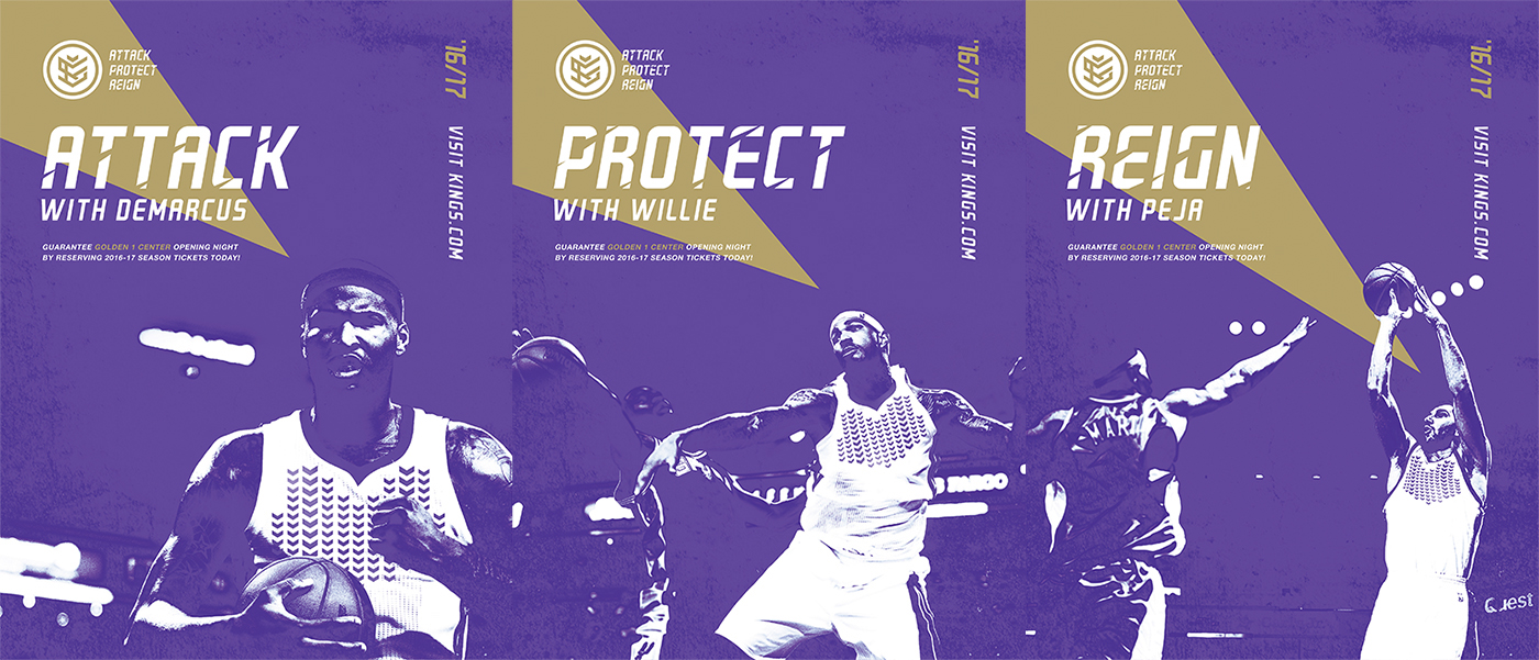 Sacramento Kings Concept Branding – Hooped Up