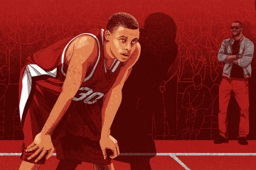 Stephen Curry Becoming the Man Illustrated Series