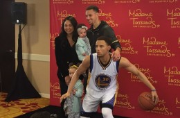 Stephen Curry x Wax Stephen Curry at Madame Tussauds