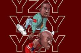 Yeezy Jumps Over Jumpman Illustration