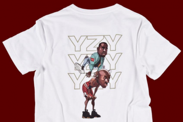Yeezy Jumps Over Jumpman Tee
