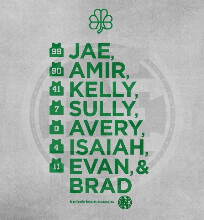 Beast From the Northeast x Celtics Playoff Squad