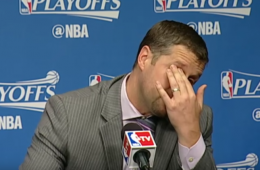 Coach Dave Joerger Cries After Grizzlies Get Eliminated