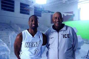 Dwyane Wade x George Gervin In New Gatorade Commercial