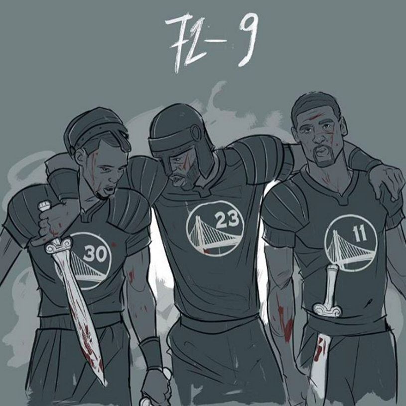 Golden State Warriors 72 Wins Illustration