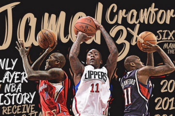 Jamal Crawford Named Sixth Man of the Year