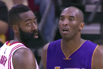 James Harden Outduels Kobe In Final Battle