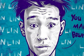 Jeremy Lin 'You Mad Bruh' Illustration