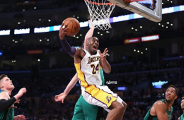 Kobe Bryant Drops 34 In Final Game Versus Celtics