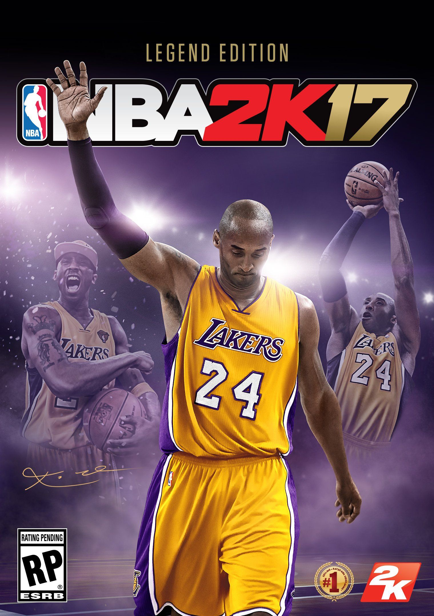 Kobe Bryant Gets NBA 2K17 Legend Edition Cover
