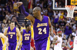 Kobe Bryant Scores 35 Points In Houston Loss