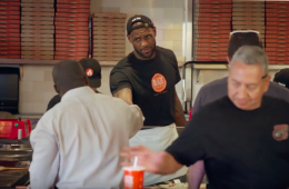 LeBron James, Undercover Pizza Master In Training