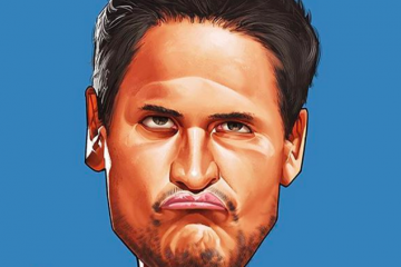 Mark Cuban 'I Want You' Illustration