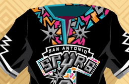 San Antonio Spurs Dashiki Illustration