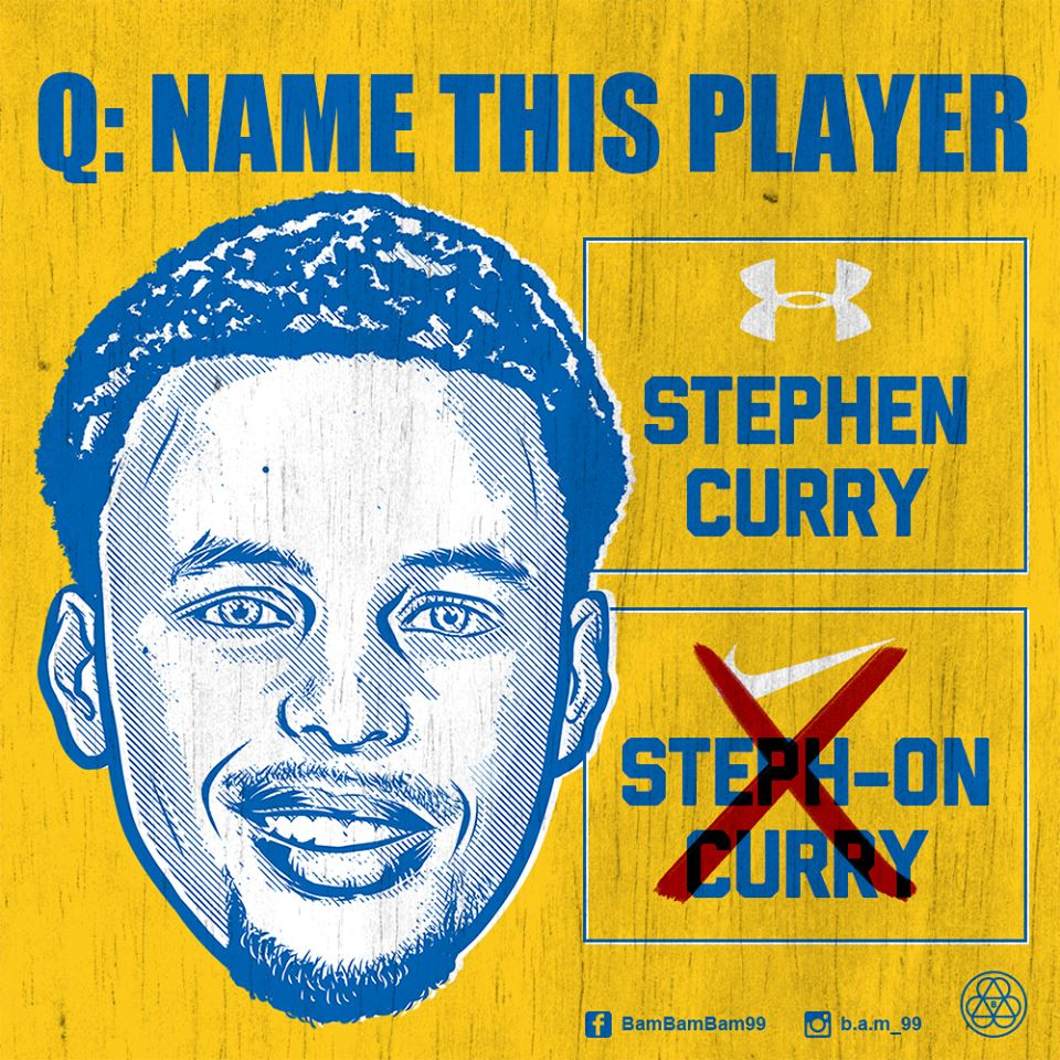 Stephen Curry 'My Name Is' Illustration
