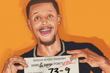 Stephen Curry Regular Season Transcript Illustration