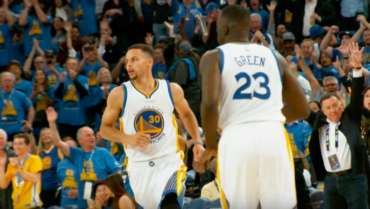 Stephen Curry Scores 46 Points, Warriors Win 73