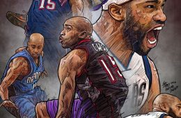 Vince Carter Forever Illustration