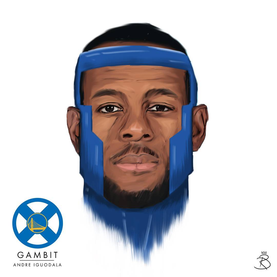X-Men x Golden State Warriors Illustrated Series