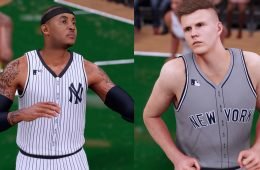NBA x MLB 'NBA 2K16' Mashup