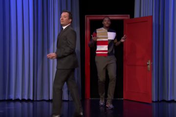 Carmelo Anthony x Jimmy Fallon Running Man Challenge