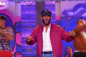 Chris Paul Performs 'Candy Girl' on Lip Sync Battle