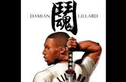 Damian Lillard Fighting Spirit Illustration