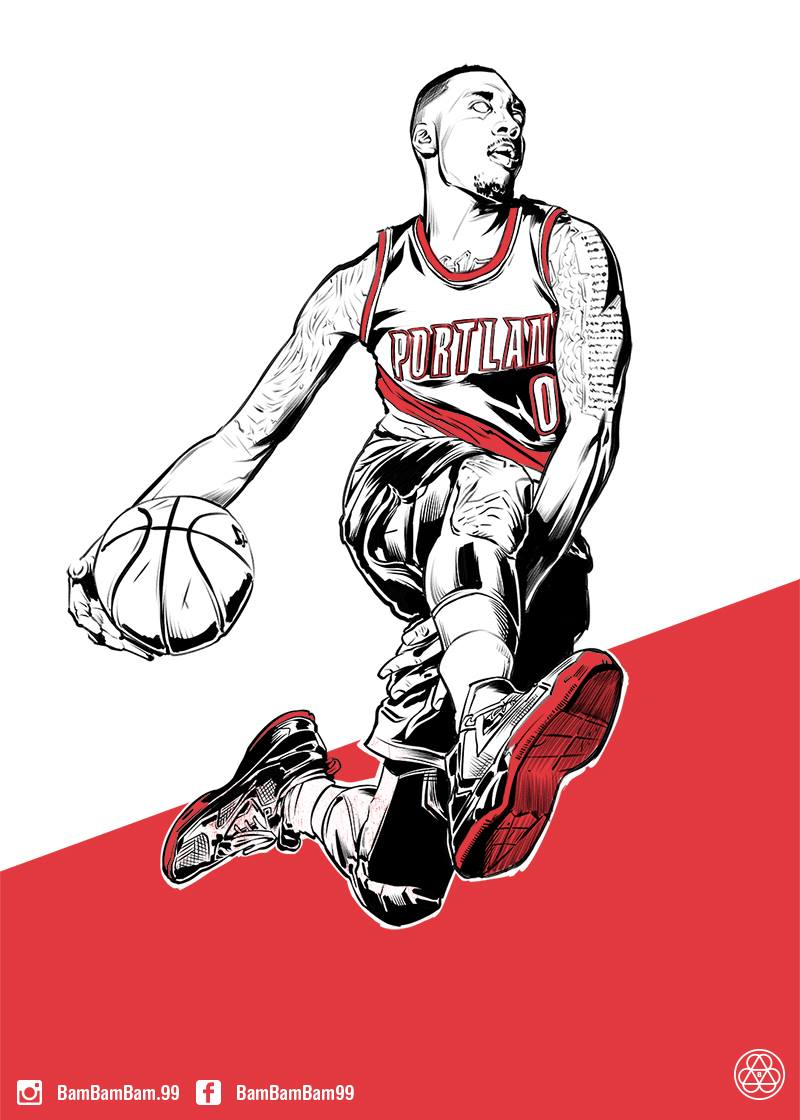 damian-lillard-new-wave-illustration
