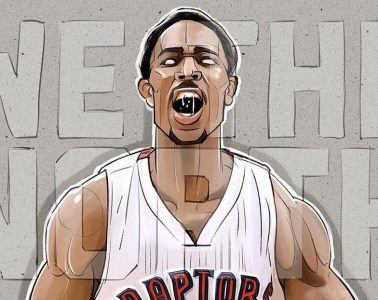 DeMar DeRozan We The North Illustration