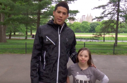 Devin Booker Took Huge Suns Fan Jenna to NYC