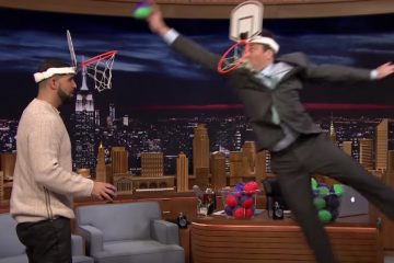 Drake vs Jimmy Fallon In Faceketball