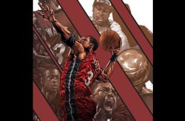 Dwyane Wade Defender of Miami Illustration