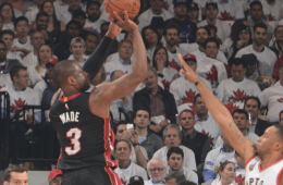 Dwyane Wade Leads Heat Past Toronto In OT