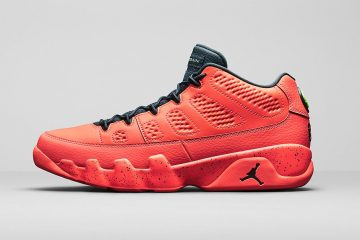 Air Jordan 9 Low Bright Mango