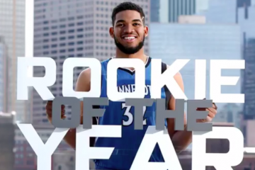 Karl-Anthony Towns Named Rookie of the Year