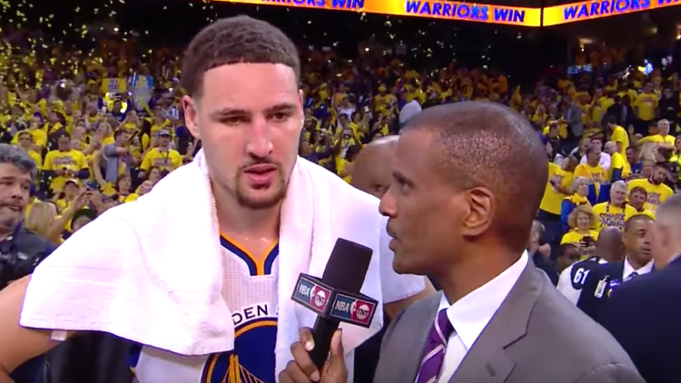 Klay Thompson Goes Off, Warriors Take Game 2